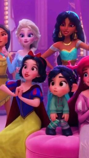 All disney princesses 👸 👑