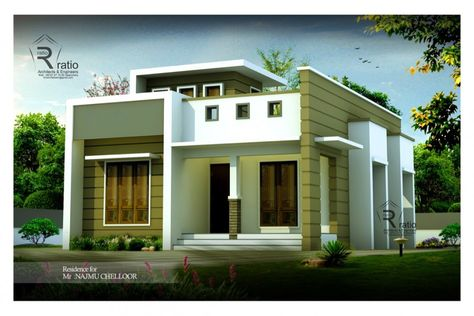 750 Sq Ft 2 Bedroom Contemporary Home Design House Design House Plans With Photos Contemporary Bedroom