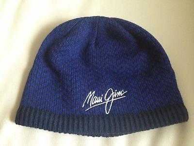 Sponsored Ebay Maui Jim Sunglasses Blue Beanie Cap Hat Headgear
