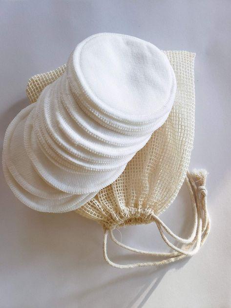 Organic Reusable Cotton facial Rounds
