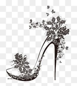 High Heeled Shoes Pattern Shoes Clipart Butterfly Heels Black High Heels Png Transparent Clipart Image And Psd File For Free Download Shoes Clipart Butterfly Heels Pictures Of High Heels