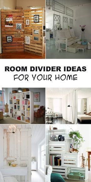 Sharing Space Diy Room Dividers Decorating Your Small Space Diy Room Divider Room Diy Home Diy