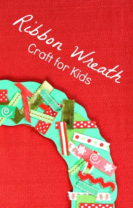 Wreath Christmas Craft for Kids