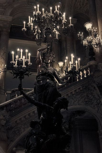Cloud Nodes Photo - statues-and-monuments Opéra Garnier (Paris) Gothic Aesthetic, Slytherin Aesthetic, Witch Aesthetic, Gothic House, Victorian Gothic, Dark Gothic, Photo Statue, Paradis Sombre, Gothic Interior
