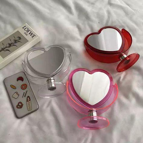 Heart Makeup Mirror