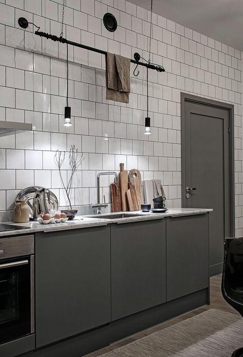 Industrial loft with beige details - via Coco Lapine Design blog