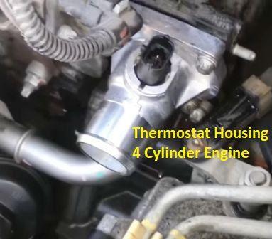 Thermostat Housing Leak