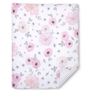 Pink And Grey Watercolor Floral 11pc Crib Bedding Set Has All That Your Little Bundle Of Joy Will Need Sweet Jojo Designs Baby Girl Sets