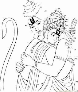 Gada Hanuman Black White Sketch Coloring Page Sketches Portrait