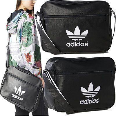 a0e50ddb07 Adidas Originals Bags - Mens Boys Girls Adidas School Side Bags Shoulder  Bags