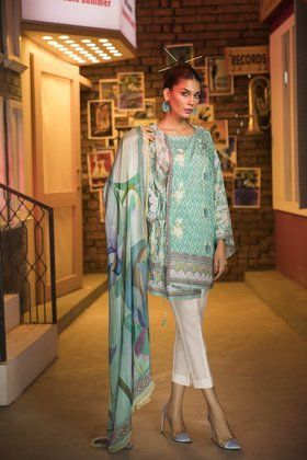 Sapphire Street Style Fabric By The Yard Collection is affordable and fresh to wear in summers. Revive your summer wardrobe with the stunning collection.
