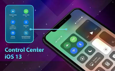 Download Control Center Ios 13 Pro 2 9 9 Iphone Control Center For Android Lockscreen Ios Ios Operating System Application Android