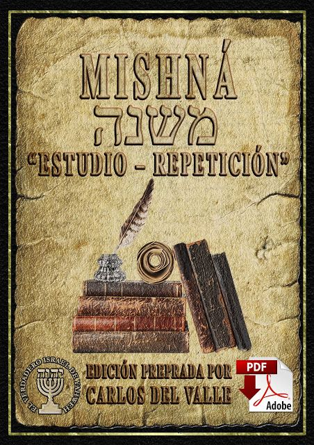 La Misna Mishna משנה Estudio Repeticion Pdf Edicion Preprada