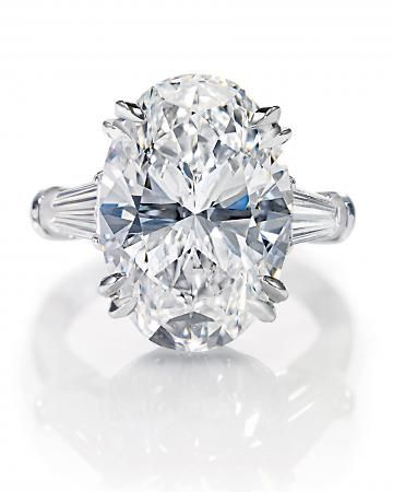 Harry Winston Oval-Cut Ring