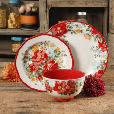 Home Pioneer Woman Dishes Pioneer Woman Kitchen Floral Dishes