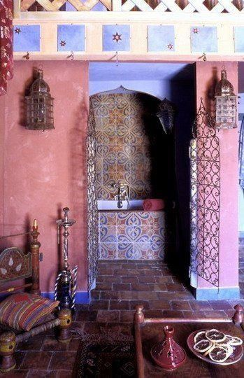 Bohemian Interior | #morocco