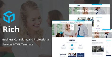 Rich — Consulting & Business HTML Template | Stylelib