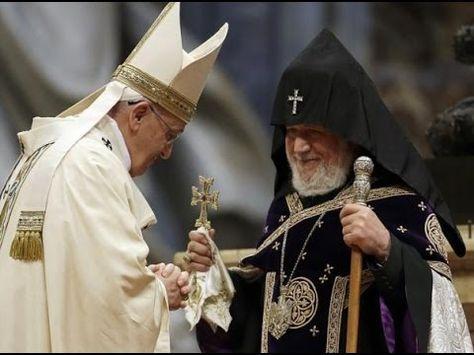"""Papa Francisco cumple la profecía""""La unión del Mal"""""""