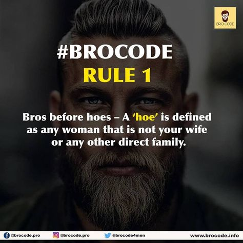 the bro code list