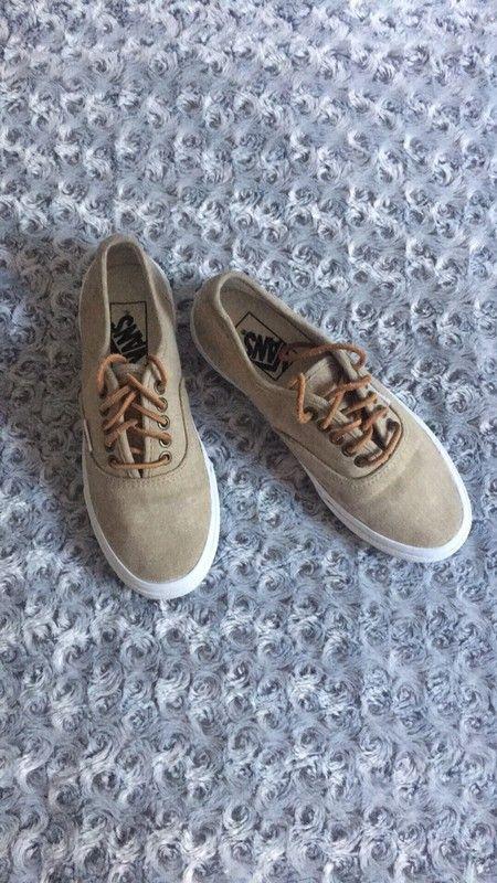 d678913af5d2f6 Vans authentic lacet en cuir, basket - vinted.fr | Vide dressing ...