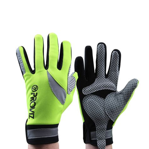 Proviz Handschuhe 'Hi-Viz Cycling'