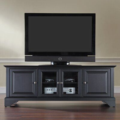 Three Posts Hedon Tv Stand For Tvs Up To 65 Low Profile Tv Stand Black Tv Cabinet 60 Tv Stand
