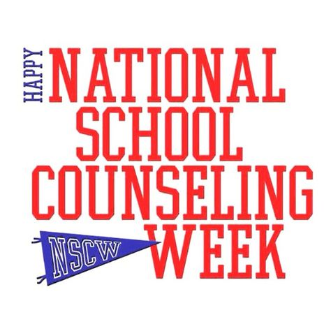 It's National School Counseling Week! Have you had an influential school counselor? Thank them today!! #NSCW15