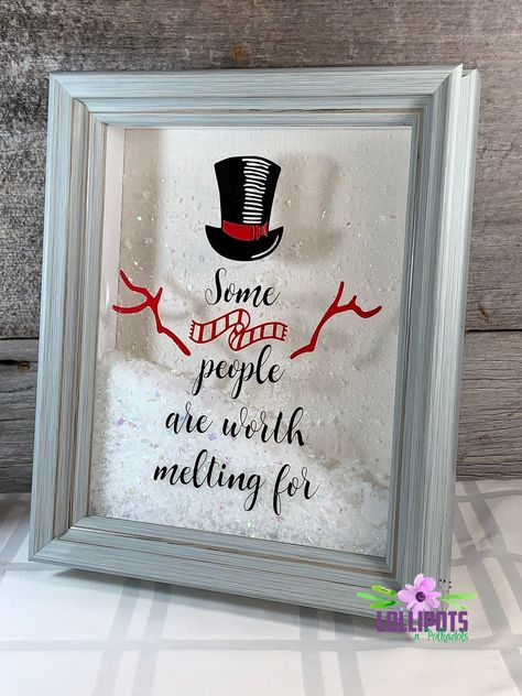 Some People Are Worth Melting For Cricut Christmas Ideas, Christmas Signs, Diy Christmas Gifts, Christmas Projects, Holiday Crafts, Holiday Fun, Christmas Holidays, Christmas Decorations, Homemade Christmas