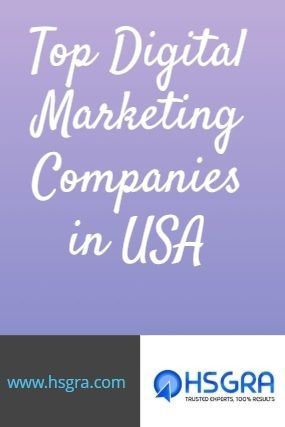 Top Digital Marketing Companies in USA