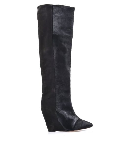 861d1568e60 Shelia pony hair and suede boots