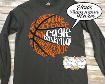Basketball Shirt Etsy Basketball Shirts Basketball Shirt Designs Shirt Design For Girls