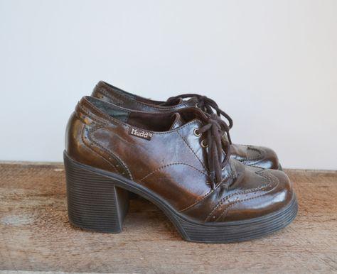 1d1f75316d3 Mudd Chunky Heel Shoes