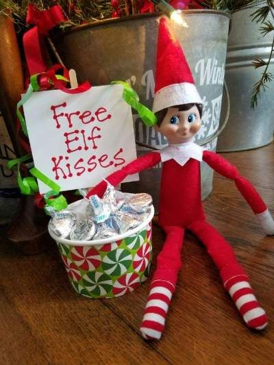 Elf Ideas Easy, Awesome Elf On The Shelf Ideas, Elf On Shelf Funny, Elf Is Back Ideas, Elf On The Shelf Ideas For Toddlers, Christmas Elf, All Things Christmas, Cute Christmas Ideas, Christmas Kitchen