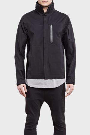 ISAORA Wetworker Tech 3L Field Jacket Black