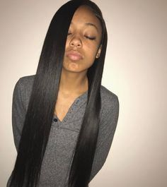 20 New Side Part Sewing In The Hairstyles Gallery Straight Weave Hairstyles Weave Hairstyles Human Hair Wefts