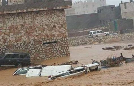 بالصور.. #سقطرى صباح الخميس بعد ليلة مرعبة بسبب إعصار ميكونو