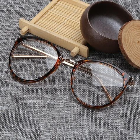 d9cf3319da Kaleidoscope Glasses Big Round Eyewear Frame Metal Legs Oversized Men Women  Eyeglasses Frames ransparent Optical Spectacle-frame