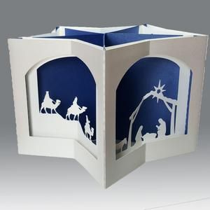 The Nativity Story Carousel Card Template Etsy The Nativity Story Christmas Cards To Make Nativity