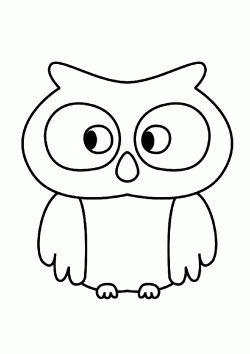 Baykus Boyama Sayfasi Owl Coloring Pages Pagina Para Colorear De