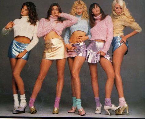 Stephanie Seymour, Cindy Crawford, Claudia Shiffer, Christy Turlington, Nadja Auermann for VERSACE 1994 by Richard Avedon