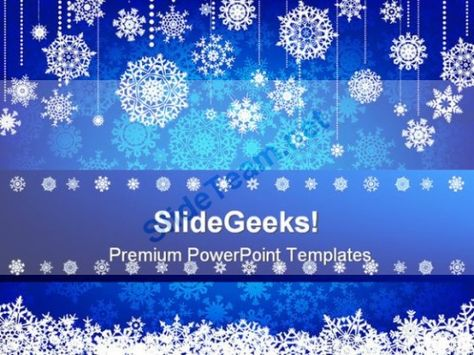 Blue Christmas Abstract PowerPoint Backgrounds And Templates 1210 - christmas powerpoint template