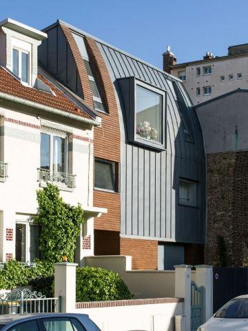 Extension et réaménagement du0027une maison en région parisienne par