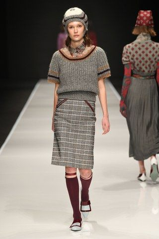 Anteprima Fall 2019 Ready-to-Wear collection, runway looks, beauty, models, and reviews.