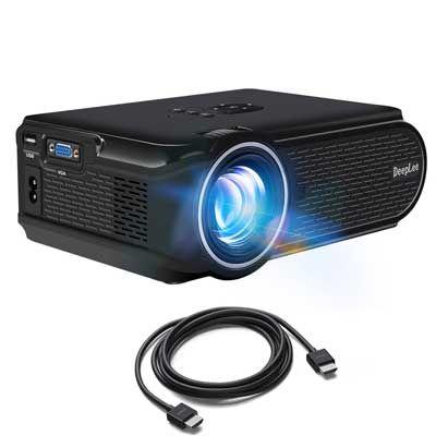 Top 10 Best Portable Projectors In 2020 Reviews Best Portable Projector Home Cinema Projector Led Projector