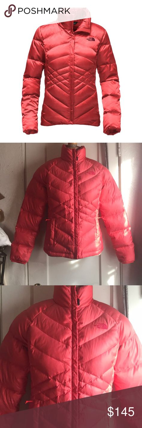 North Face Aconcagua Jacket In Spiced Coral North Face Aconcagua Jacket In Spiced Coral Great Conditions Size Small The North Face Jackets & Coats Puffers