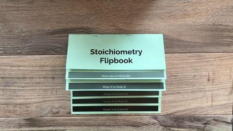 Stoichiometry Flipbook