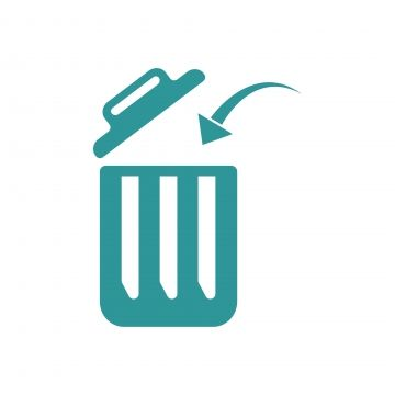 Trash Can Logo Icon Design Template Vector Trash Can Clipart Icons Converter Icons Fitness Png And Vector With Transparent Background For Free Download