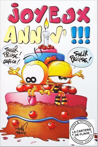 carte anniversaire gratuite humour Carte D'anniversaire Animée Gratuite Humoristique Awesome Carte