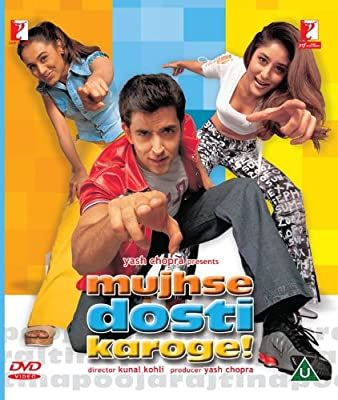 Amazon Com Mujhse Dosti Karoge Bollywood Dvd With English Subtitles Hrithik Roshan Kareena Kapoor R In 2020 Hindi Movies Online Hindi Movies Hindi Bollywood Movies