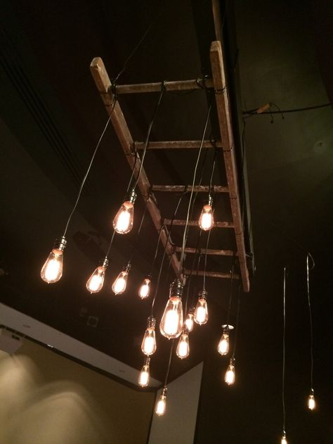 Ladders - climbing of heights - social mobility? using ladder to build space/ stage